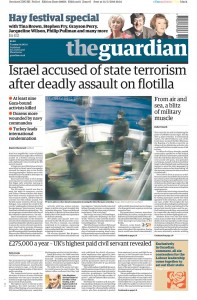 2010-06-01 The Guardian frontpage